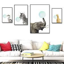 wand bild luxus tier zebra leinwand wand malerei kunst poster und drucke wand bild für wohnzimmer dekoration wohnkultur