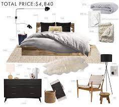 Budget Room Design Rustic And Refined Scandinavian Bedroom