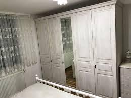 vintage landhaus shabby chic schlafzimmer