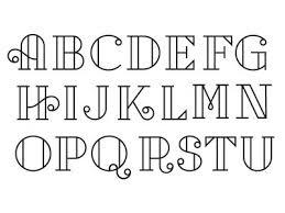 Cap Set Font Styles AlphabetFun