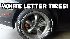 14 Inch White Letter Tires For Sale