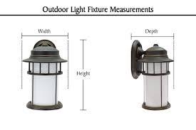 60008 1 light large outdoor wall light fixture dusk to