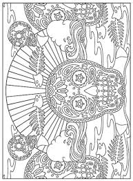 Dia De Los Muertos Day Of The Dead Coloring Book Dover Publications Sample Page