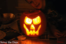 Cool Pumpkin Carving Ideas by Savor The Days October 2013