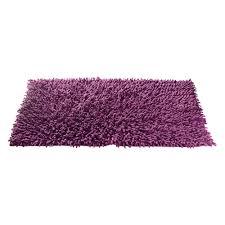 tapis aubergine pas cher salle de bain couleur aubergine 4 tapis chenille aubergine