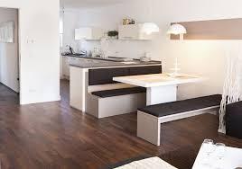 blick vom wohnzimmer zum essbereich und der küche im vista l
