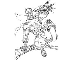 Panther Animal Coloring Pages Kids