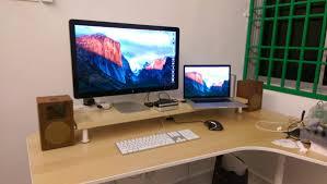 Ikea Linnmon Corner Desk Hack by Best 25 Monitor Stand Ikea Ideas On Pinterest Computer Desk