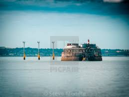100 Spitbank Fort Or Spitsand Located In The Solent License