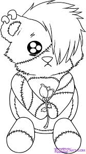 Emo Love Coloring Pages