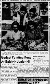 Gadget Painting Baldwin Jr High Ken Hamilton