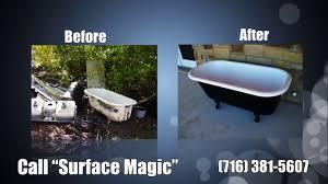 bathtub refinishing repair buffalo ny youtube