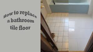 types of bathroom tiles strat to finish replace bath tile