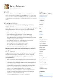 General Warehouse Worker Resume Guide | +12 Resume TEMPLATES | Resume Examples For Warehouse Associate Professional Job Awesome Sample And Complete Guide 20 Worker Description 30 34 Best Samples Templates Used Car General Labor Objective Lovely Bilingual Skills New Associate Example Livecareer