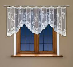 gardinen stores im landhaus stil fürs esszimmer günstig