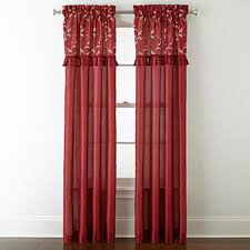 discount window treatments clearance curtains jcpenney