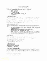 Special Education Teacher Resume Objective Teaching Examples Free Download Teach For America Sample