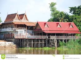 100 Thailand House Designs Thai Design Beside River Stock Photo Image Of