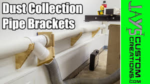 Dust Collection Pipe Bracket Hangers - 158 - YouTube Dust Collection Fewoodworking Woodshop Workshop 2nd Floor Of Garage Collector Piping Up The Ductwork Youtube 38 Best Images On Pinterest Carpentry 317 Woodworking Shop System Be The Pro My Ask Matt 7 Small For Wood Turning And Drilling 2 526 Ideas Plans