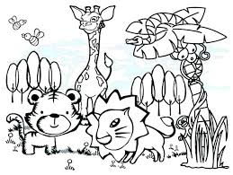 Color Pages Of Animals Coloring Hard Forest Animal Printable Inspirational