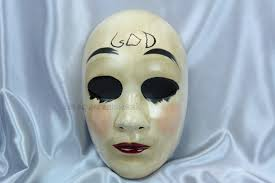 The Purge God Mask Halloween by The Purge Eradicate Lll Costume Mask Products Costumes And The