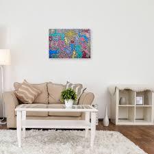 kunstdruck auf leinwand in der welt keith haring wanddeko canvas