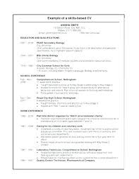 Relevant Work Experience Resume Examples Packed With Example For 11030