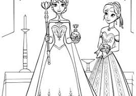 Frozen Coloring Pages Queen Elsa Coloring4free