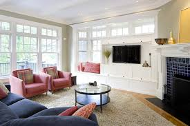 window above fireplace living room victorian with built in curved