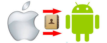 Transfer Android Contacts to iPhone Android iPhone Contacts Transfer