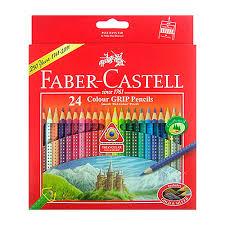 Faber Castell Colour GRIP Brush Watercolour Pencils