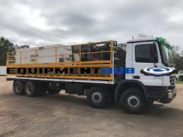 100 Truck For Hire Mercedes Actros Air Pack Support Truck For POA Equipment Hub