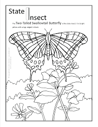 Printable Colouring Pages For Adults Butterfly Free Monarch Coloring Life Cycle Full Size