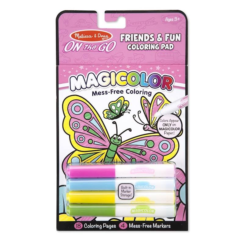 Melissa & Doug On The Go Magicolor Coloring Pad