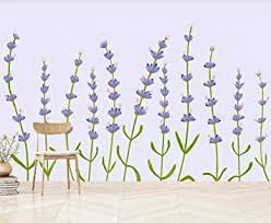 zjfong 3d foto lila neue lavendel pflanze gezeichnet