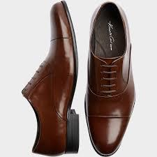 Kenneth Cole Command Chief Cognac Dress Shoe