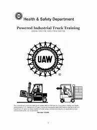 100 Powered Industrial Truck Power S Occupational Safety And Health