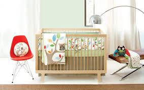 Modern Nursery Bedding Owl Latest and Modern Nursery Bedding
