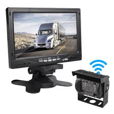 Car Rover Bus Truck Wireless Reverse Camera With 7