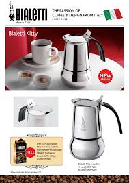 Bialetti Coffee Maker Special Promotion Launching Of The Italian Icon Moka In Malaysia