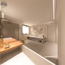 tapete im badezimmer wandtapeten als kreative alternative