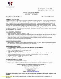 Resume For Police Officer With No Experience Awesome Top Result Ficer Cover Letter Examples Unique