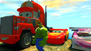 Heavy Construction Videos - Hulk Smash Boost Lightning McQueen Mack ... Mack Truck Merchandise Hats Trucks Black Gold Learn Colors For Kids With Disney Transportation Dinoco The Lightning Mcqueen Transportation Original Acrylic Marilyn Allis Cstruction Videos Learn Colors Pixar And Cars 2 2013 Youtube Vision Group Amazoncom Bruder Granite Dump Toys Games Color Unveils New Highway Truck Calls It A Game Changer Its