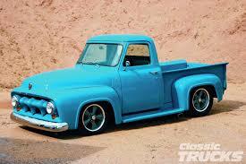 100 1953 Ford Truck F100 Blue Bayou Hot Rod Network