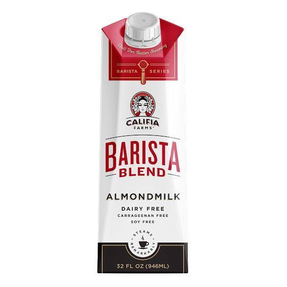 Califia Farms Barista Blend Almond Milk - 32 fl oz carton
