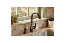 Moen Brantford Kitchen Faucet Oil Rubbed Bronze by Faucet Com 7735orb In Oil Rubbed Bronze By Moen