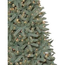 75 Pre Lit Flocked Christmas Tree by Holiday Time Pre Lit 7 5 U0027 Birchwood Fir Artificial Christmas Tree