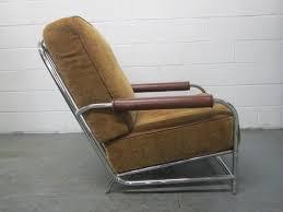 Streamline Chrome Lounge Chair After Gilbert Rohde