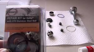 Moen Sink Sprayer Diverter Valve by Delta Single Lever Kitchen Faucet W Sprayer Repair Maintenance