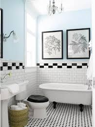 bathroom interesting black and white bathroom ideas vintage black